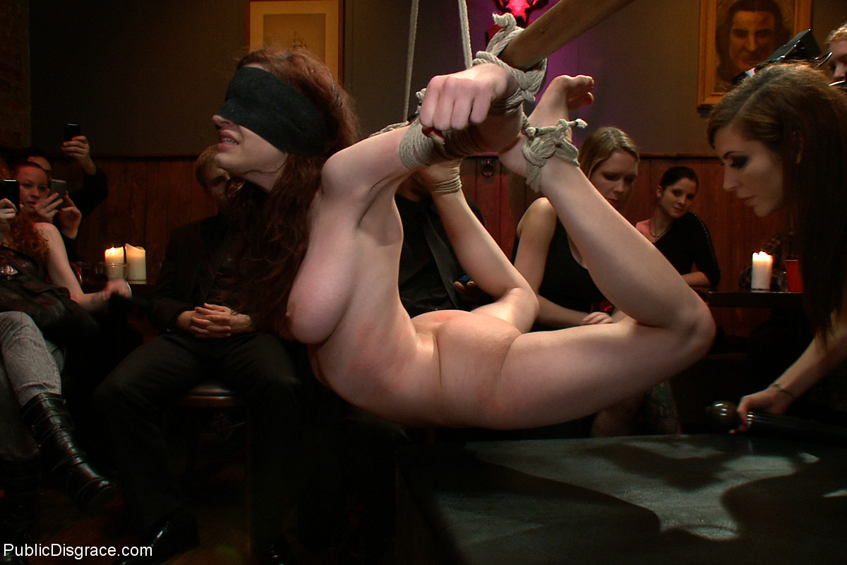 This remarkable public humiliation and bdsm